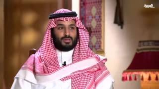الأمير محمد بن سلمان ..بساطة المظهر وليونة الحوار
