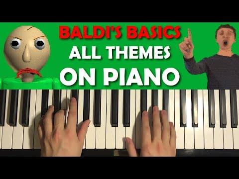 BALDIS BASICS ON PIANO
