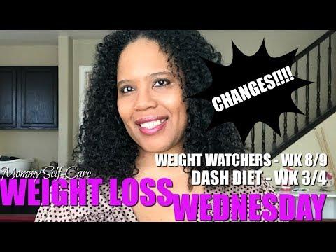 WEIGHT LOSS UPDATE   WEIGHT WATCHERS WK 8-9   DASH DIET BASICS