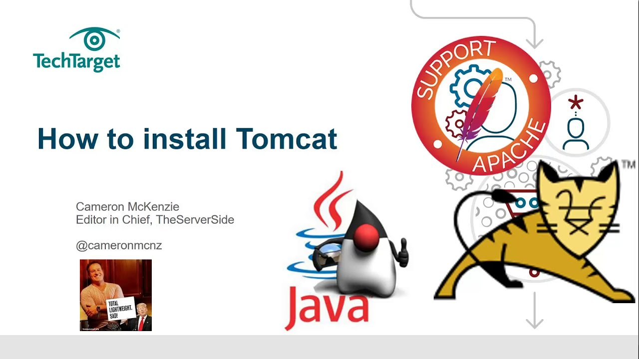 13 16 MB] How to install Apache Tomcat 9 Java web app server