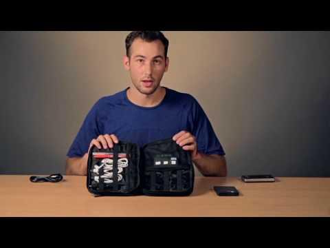 Bagsmart 3 Layer Travel Electronics Cable Organizer Youtube