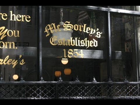 McSorleys Old Ale House, New York City - History and Tour