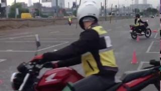 Motosiklet eğitimi 1.ders görüntüleri (6.bölüm)