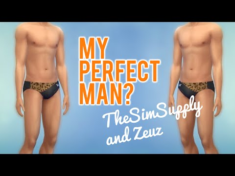 The Sims 4 My perfect man w/ TheSimSupply and Krytic Zeuz