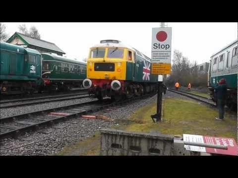 Mid Norfolk Railway Stratford Depot Weekend 10th Feb 2013