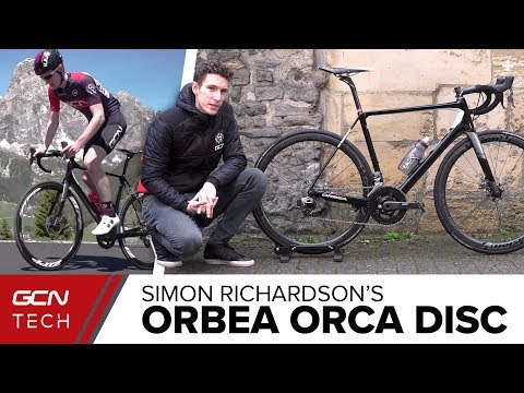 Simon Richardson's Custom Orbea Orca Disc