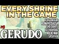 Every Shrine in Gerudo Tower - Shrine Hunters - Breath of the Wild | Austin John Plays