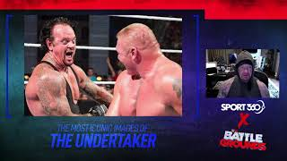 The Undertaker talks through his most iconic WWE images
