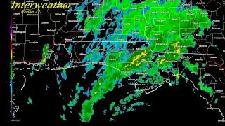Interweather Live Radar-Tropical Storm Alberto