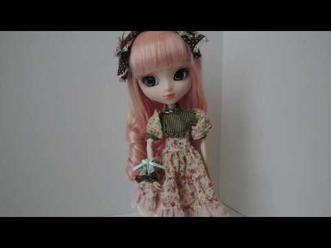 Pullip alice du jardin pink version doll review youtube for Alice du jardin pullip