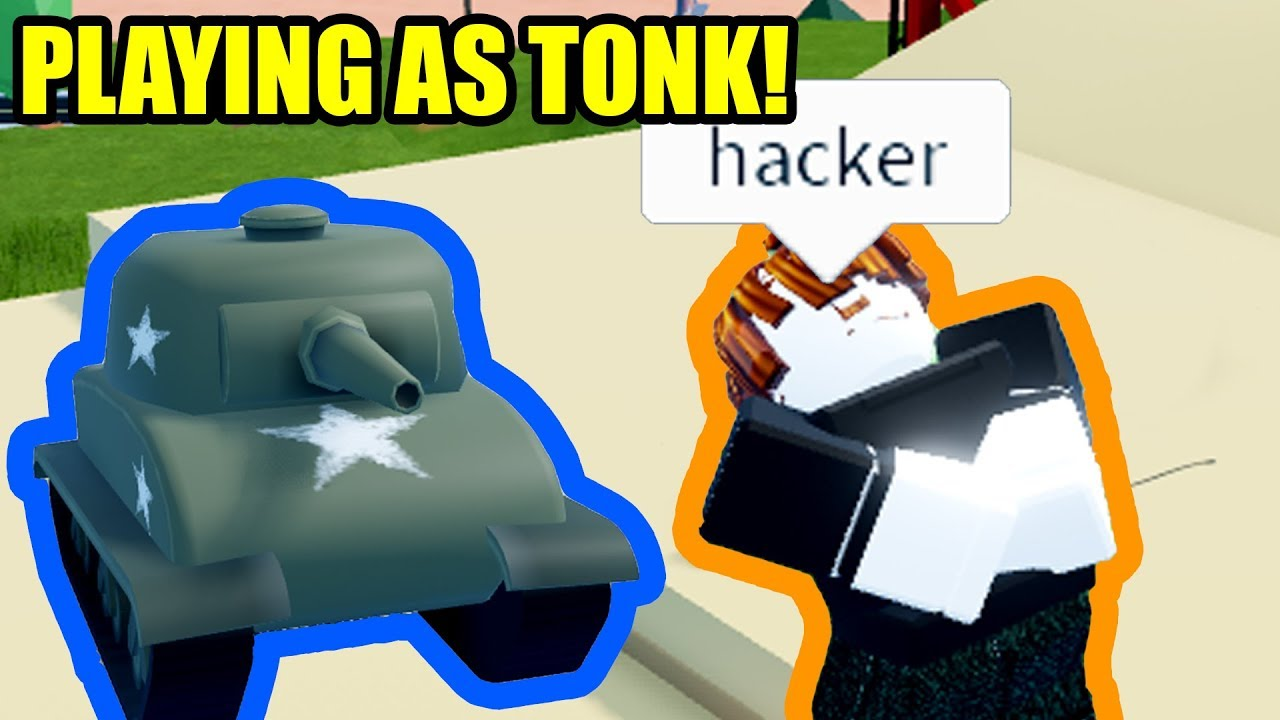 """Download Playing Roblox Jailbreak as a TANK?! 