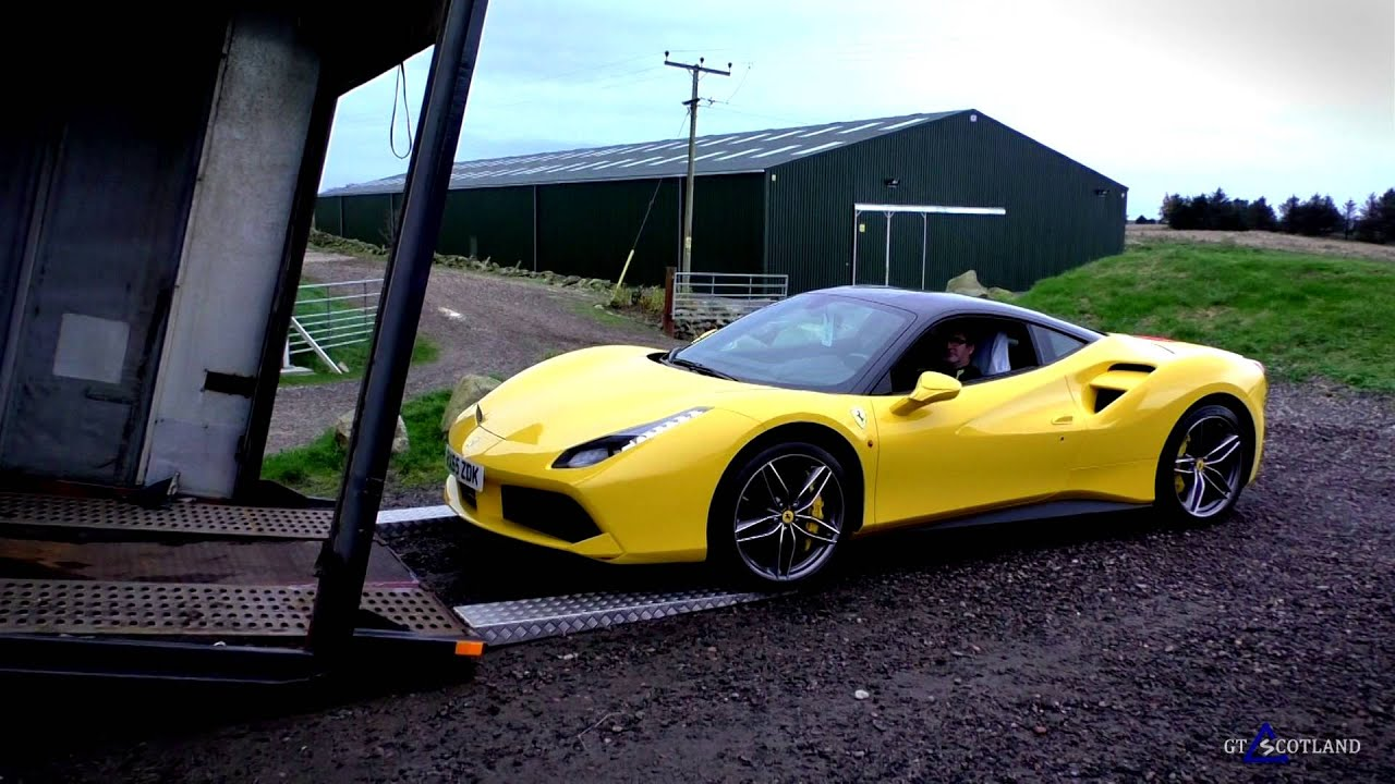 ferrari 488 gtb is delivered youtube - Ferrari 488 Gtb Black