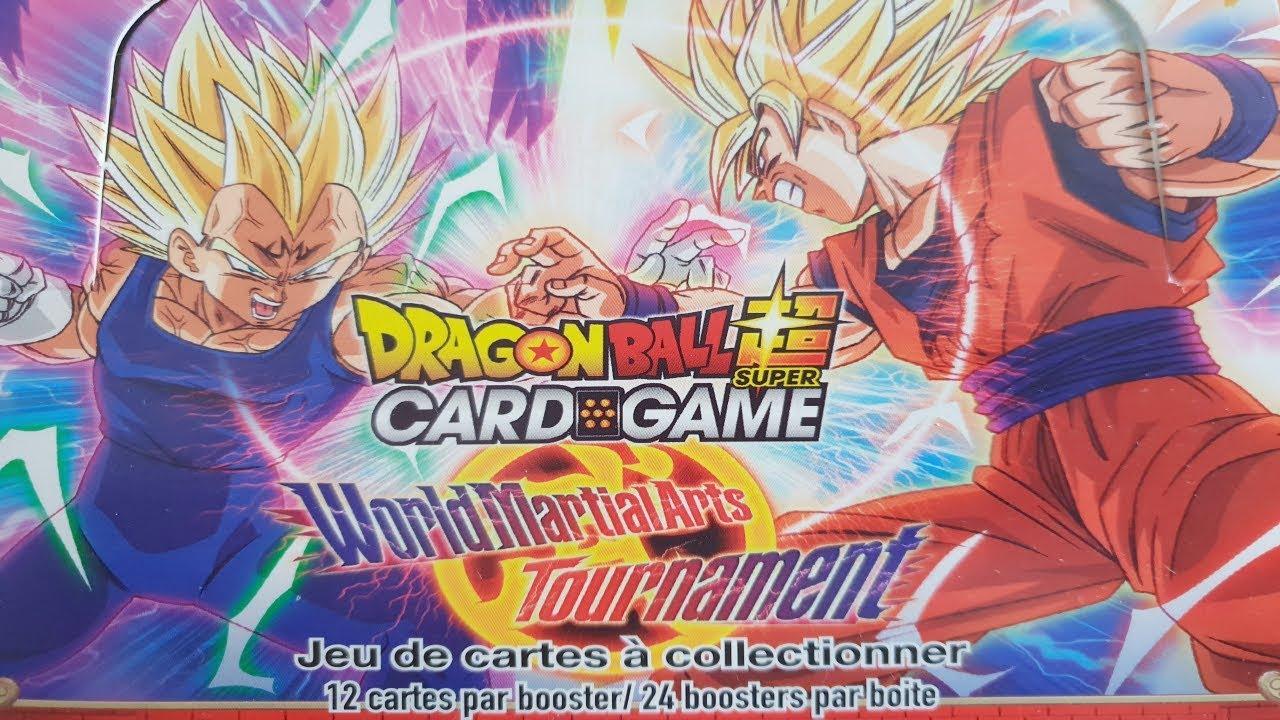 Ouverture Display Tb2 World Martial Arts Mon Meilleur Display Dragon Ball Super Card Game