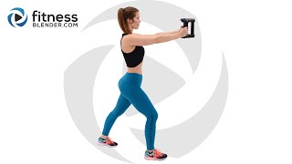Complete Upper Body Workout for Strength & Toning: Arms, Shoulders, Chest and Back Workout