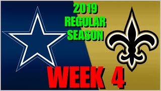 ☆**LIVE STREAM** Reaction ☆ 2019 REGULAR SEASON WEEK 4: Dallas Cowboys @ New Orleans Saints (On SNF)