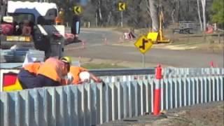 Guardrail Installation Video - A1 Highways Thumbnail