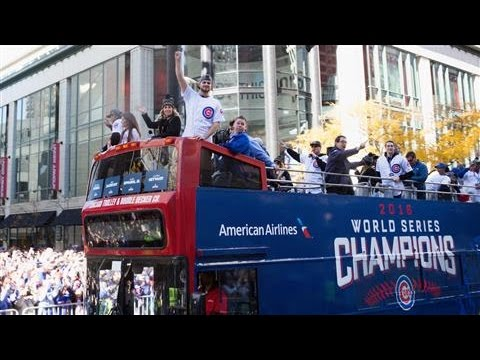 Cubs Parade Through Chicago After World Series Win