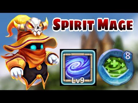 Spirit Mage | Old Dungeon King | 9 Empower | 8 Regenerate | Dungeon/raid/expedition | Castle Clash
