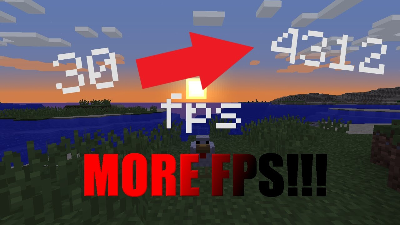 How To INCREASE Minecraft FPS!!! Optifine Comparison 1 11 2!