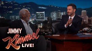 Morgan Freeman Narrates a Hollywood Blvd. Pedestrian
