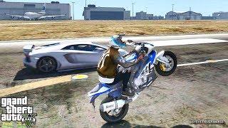 GTA 5 REAL LIFE MOD #359 BIKE VS NOVA!!! (GTA 5 REAL LIFE MODS)