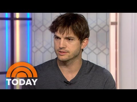 Ashton Kutcher: My Organization Helped Find 6,000 Human Trafficking Victims | TODAY