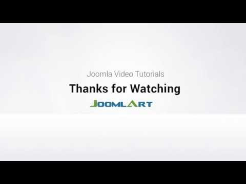 Joomla Extension Tutorial - JA Extension Manager Component