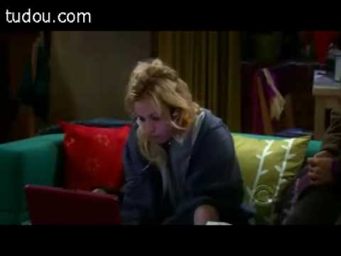 Penny is addicted to online game. Big Bang Theory season 2 clips