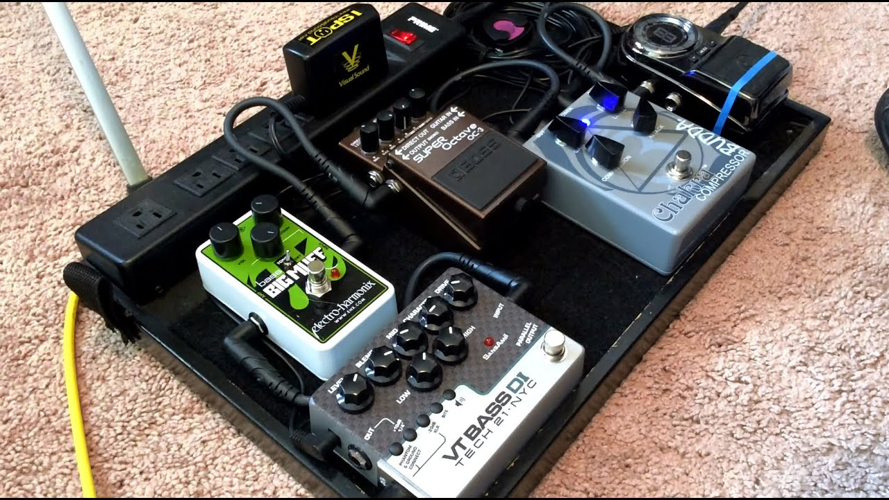 bass pedalboard walkthrough 2015 youtube. Black Bedroom Furniture Sets. Home Design Ideas