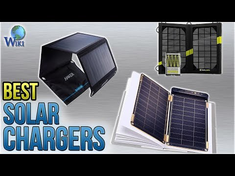 10 Best Solar Chargers 2018