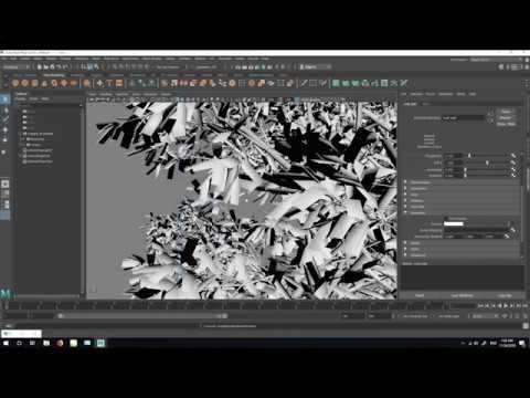 SpeedTree To Maya and Arnold Renderer - Fastest Workflow !