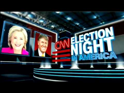 CNN Election Night in America 2016 Intro