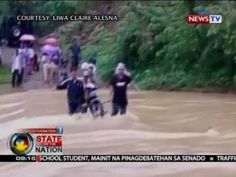 Malawakang pagbaha, naranasan sa ilang lugar sa Zamboanga del Norte kasunod ng matinding pag-ulan