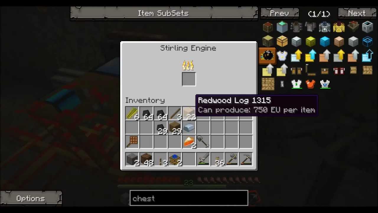 minecraft ftb how to turn engines