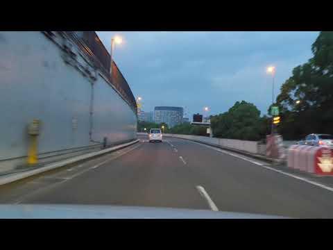 Tokyo expressway drive 4K 首都高 お台場 新宿