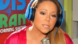 Mariah Carey Getting Irritated / Mad At Interviewers!