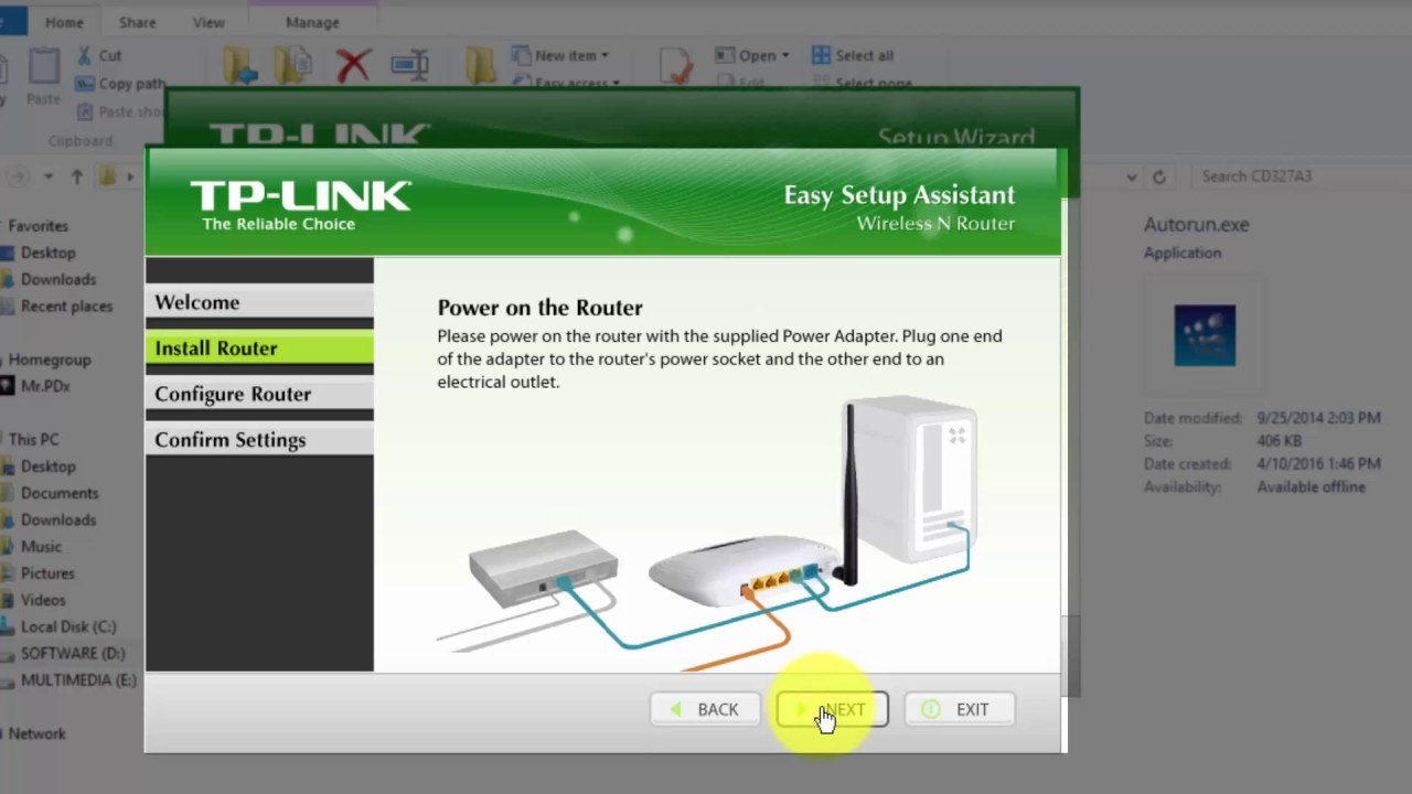 How to connect TP-Link TL-WR740N 60