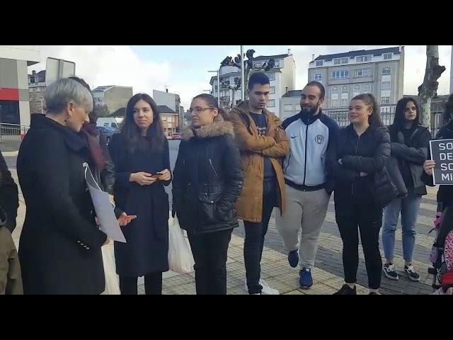 As Pontes, contra la violencia machista