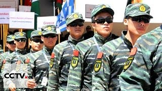 Chinese Special Ops units earn honors at Jordans Warrior Competition