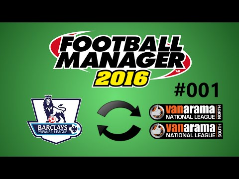 Football Manager 2016 Experiment: Inverse English Leagues Episode 1