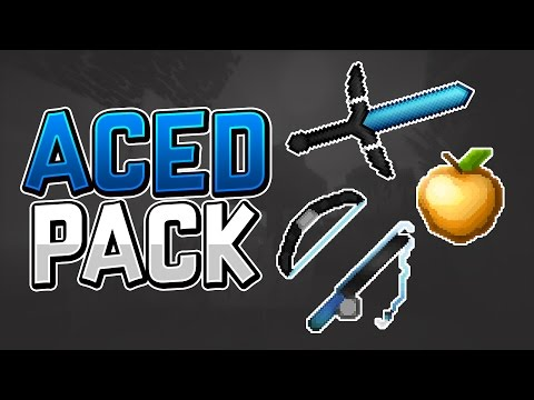 Minecraft PvP Texture Pack - Aced Pack 64x