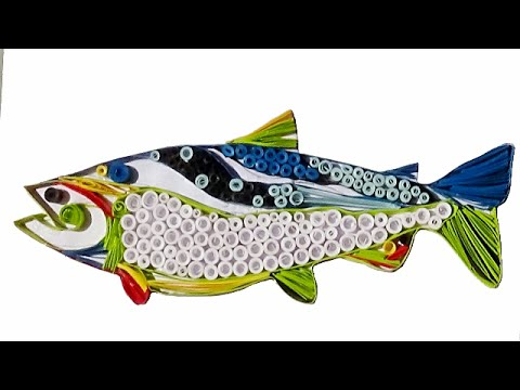 Quilling Artwork Made Easy How To Make Beautiful Fish Design