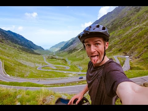 Summit Cycling on the Transfăgărășan Highway: The Best Road in the World (Romania) - EP. #22