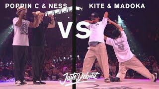 Poppin C & Ness vs Kite & Madoka - Juste Debout 2017
