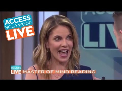 Alex McAleer on NBC's Access Hollywood Live
