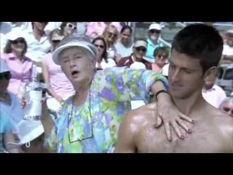 Crazy Tennis Replay in Action! Hilarious