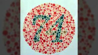 ISHIHARA'S TYPE TESTS For COLOUR BLINDNESS