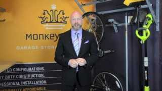 Organizing Solutions For Your Garage With Monkey Bar Storage