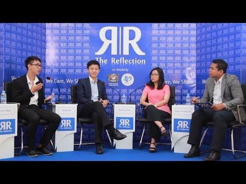 "The Reflection   Debate on topic : ""Domestic Education Vs Oversea Education""   ThmeyThmey   CamASEAN"