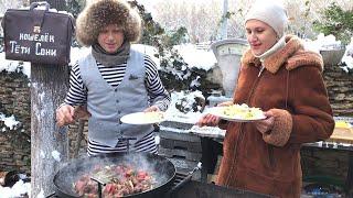 ИНДЕЙКА с ОВОЩАМИ/рецепты 2021 от Здорово и вкусно с Дианой в гостях у Одесского Липована # 113
